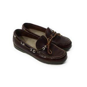 LL BEAN Womens Camp Moccasins Boat Shoes Size 8